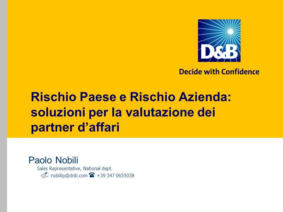 Rischio Paese e Rischio Azienda: soluzioni per la valutazione dei partner d'affari