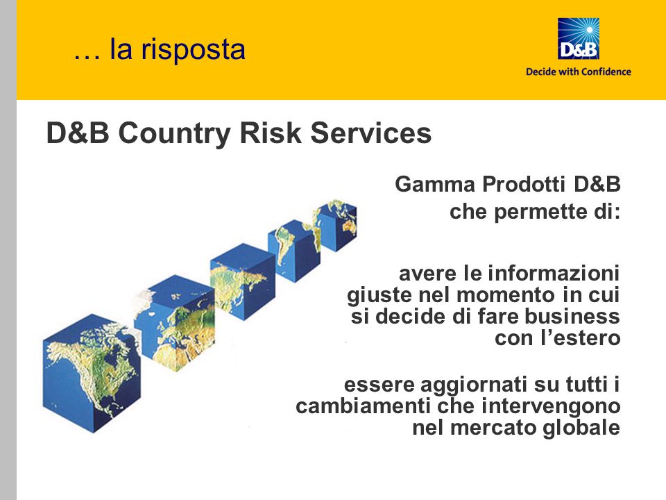 D&B Country Risk Services