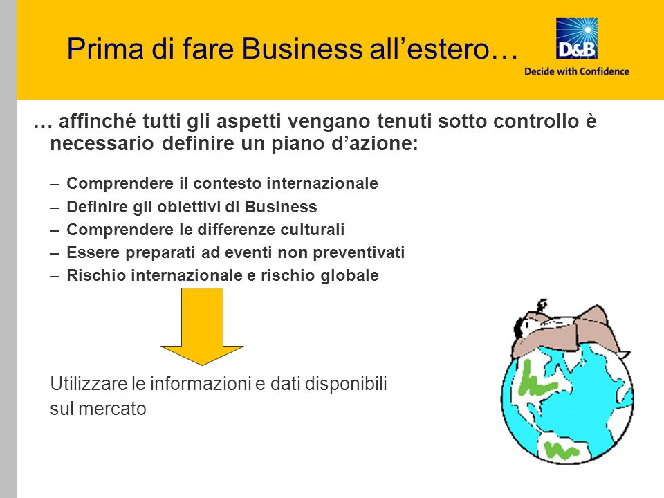 Prima di fare Business all'estero…