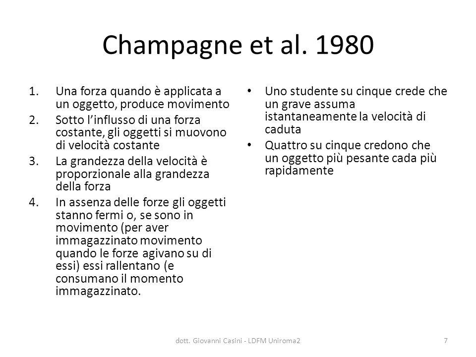 dott. Giovanni Casini - LDFM Uniroma2