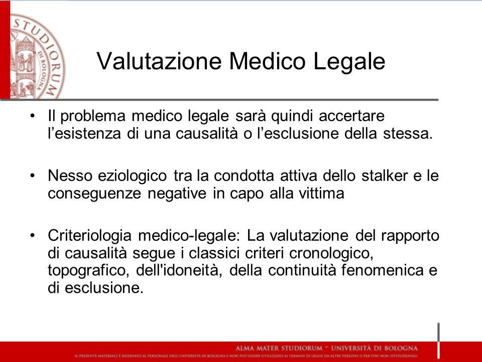 Valutazione Medico Legale