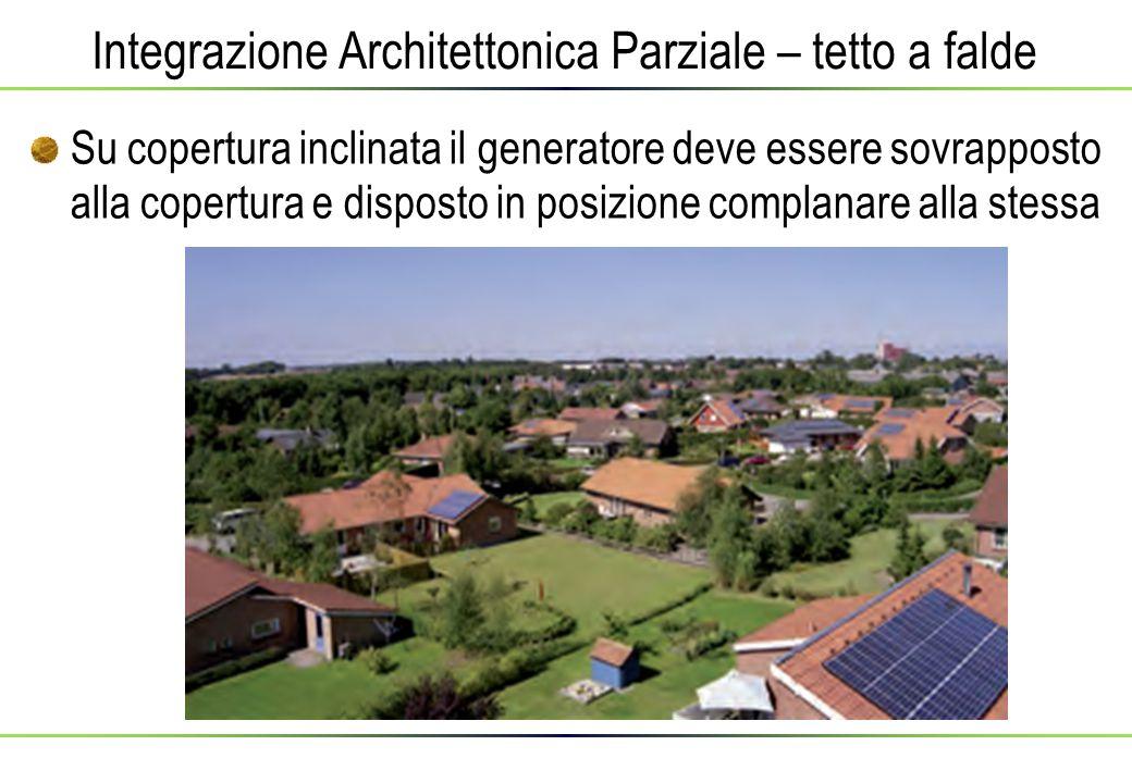 Integrazione Architettonica Parziale – tetto a falde