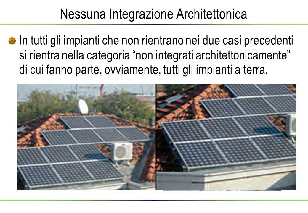 Nessuna Integrazione Architettonica