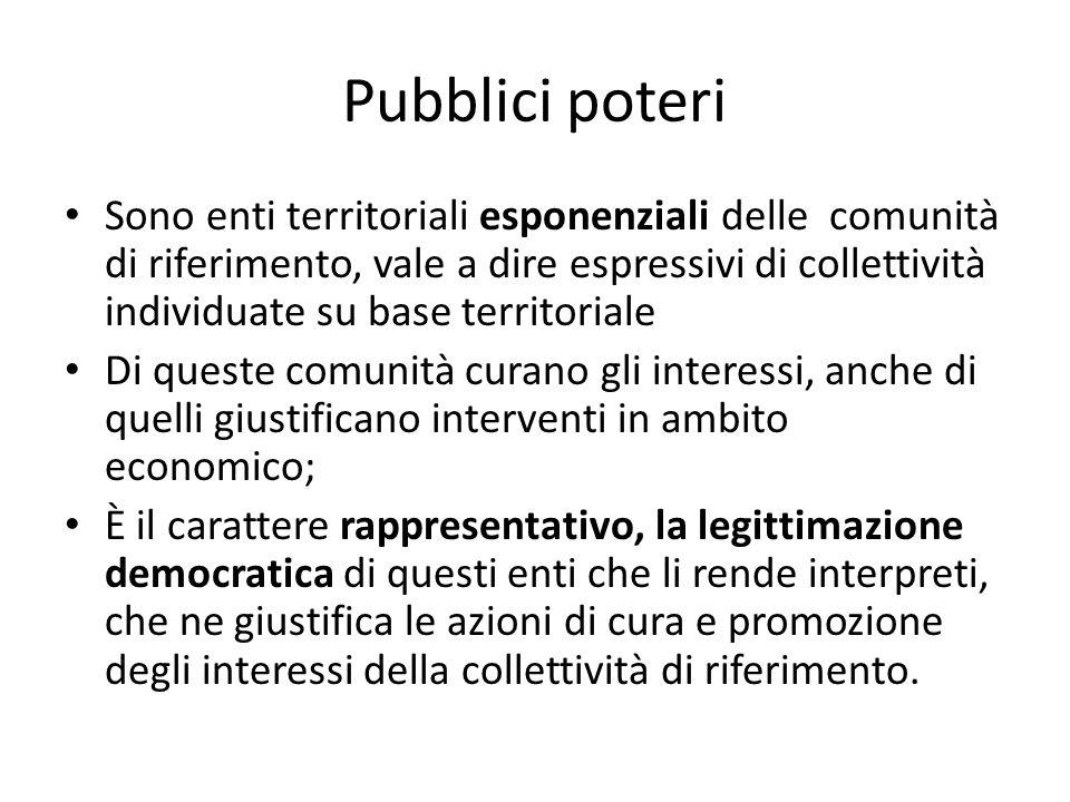 Pubblici poteri