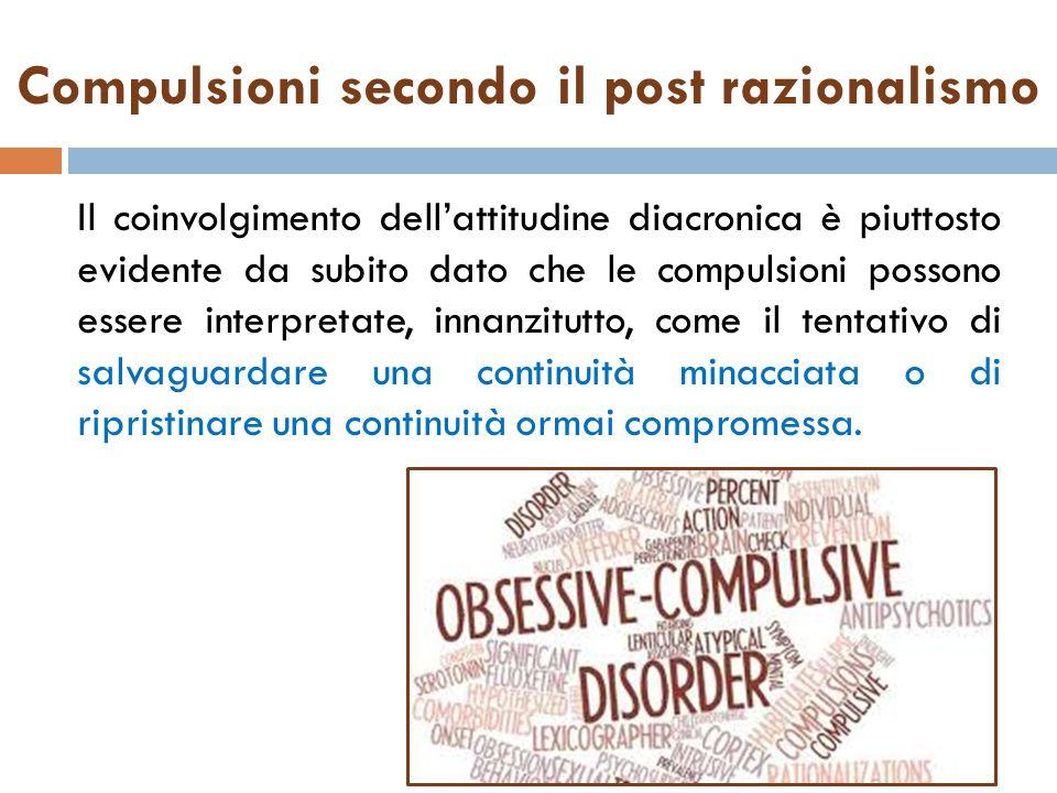 Compulsioni secondo il post razionalismo