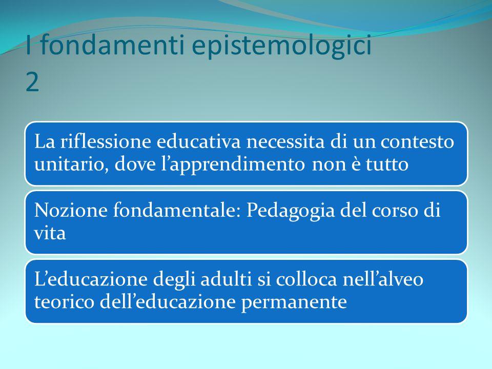 I fondamenti epistemologici 2