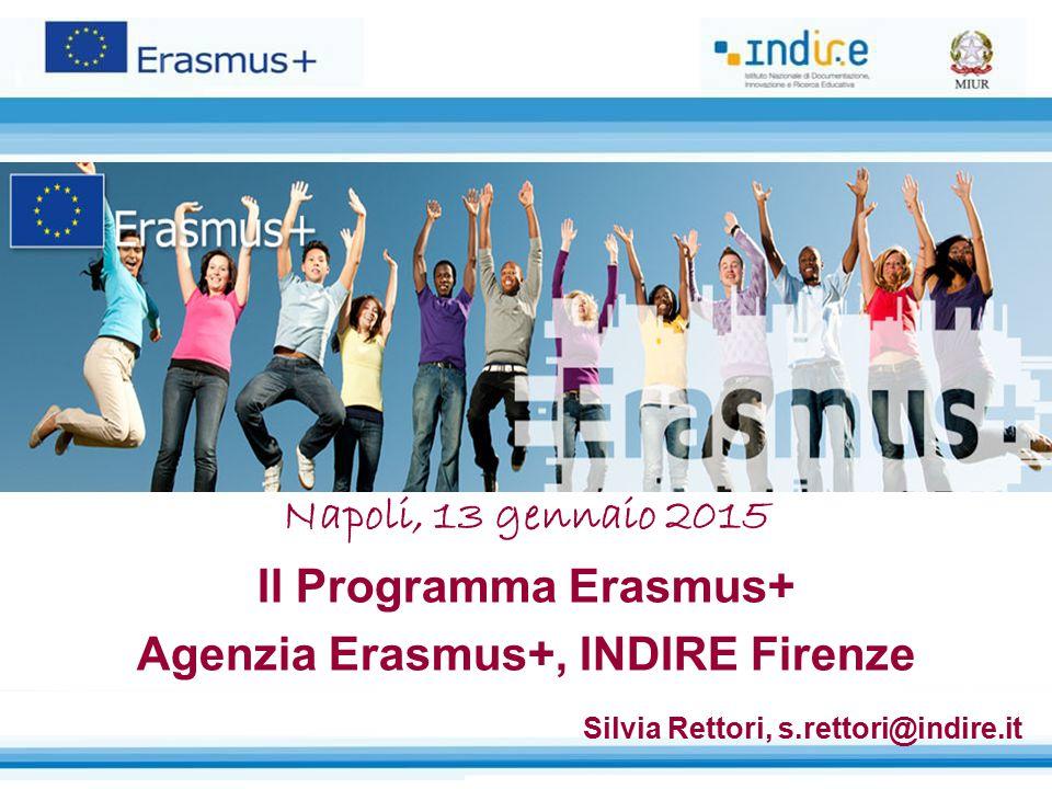 Agenzia Erasmus+, INDIRE Firenze