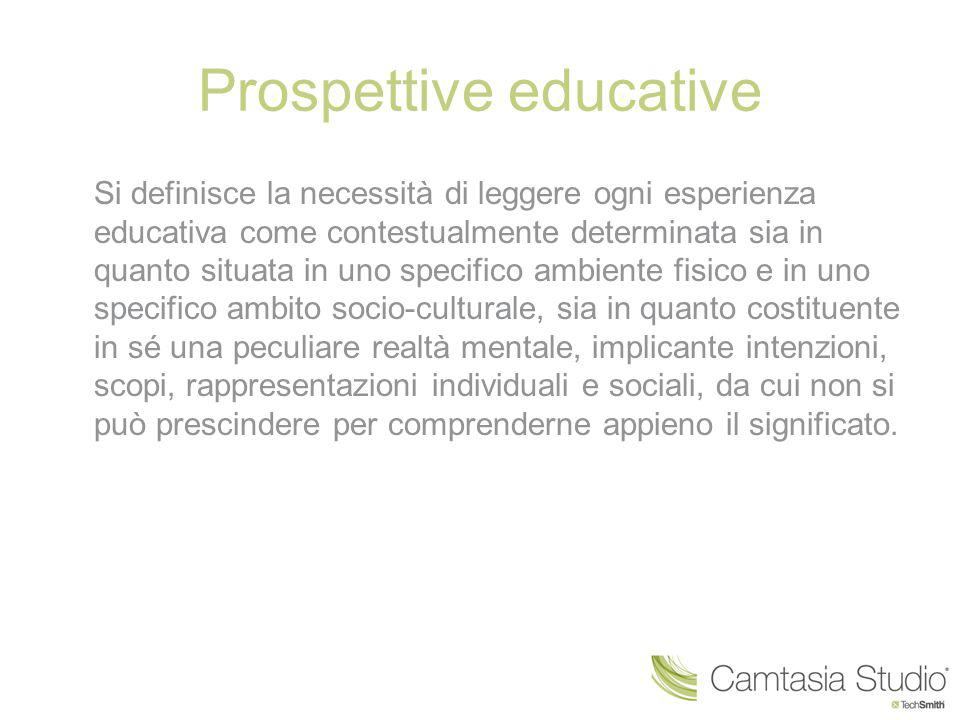 Prospettive educative