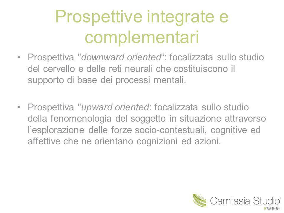 Prospettive integrate e complementari