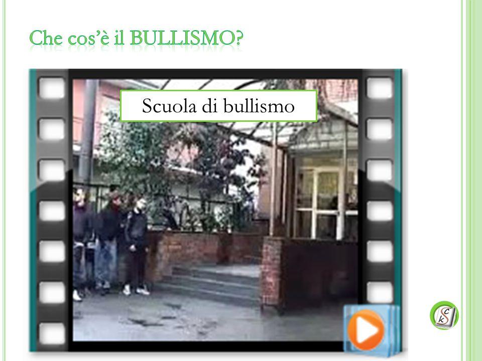 Che cos'è il BULLISMO Scuola di bullismo