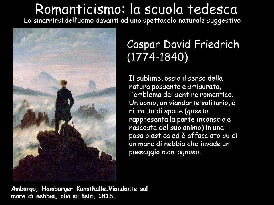 Romanticismo: la scuola tedesca