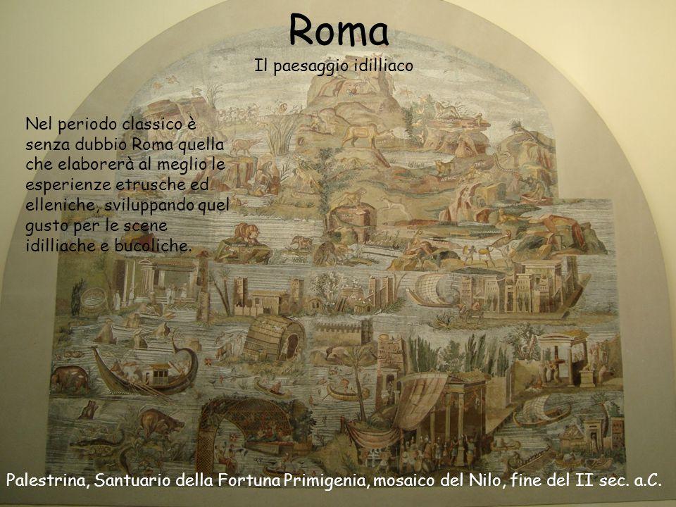 Roma Il paesaggio idilliaco