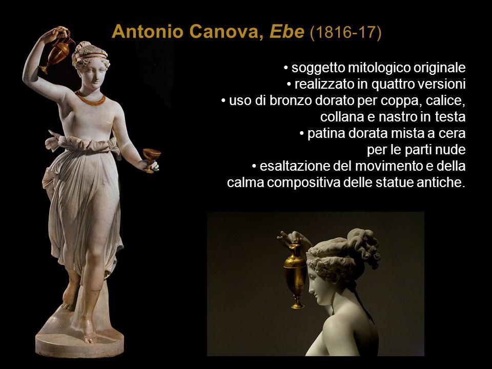 Antonio Canova, Ebe (1816-17) soggetto mitologico originale