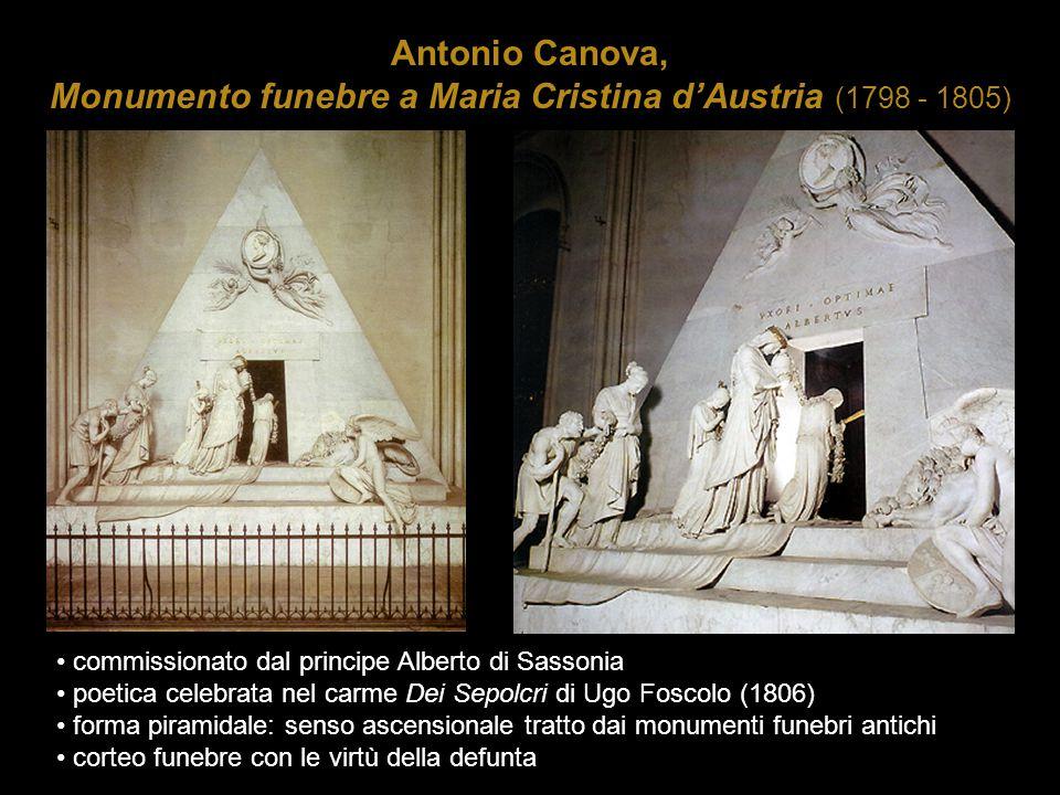 Antonio Canova, Monumento funebre a Maria Cristina d'Austria (1798 - 1805)