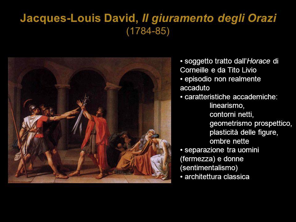 Jacques-Louis David, Il giuramento degli Orazi (1784-85)