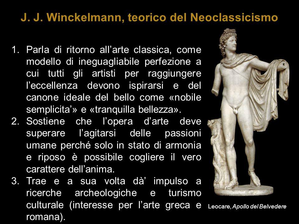 J. J. Winckelmann, teorico del Neoclassicismo