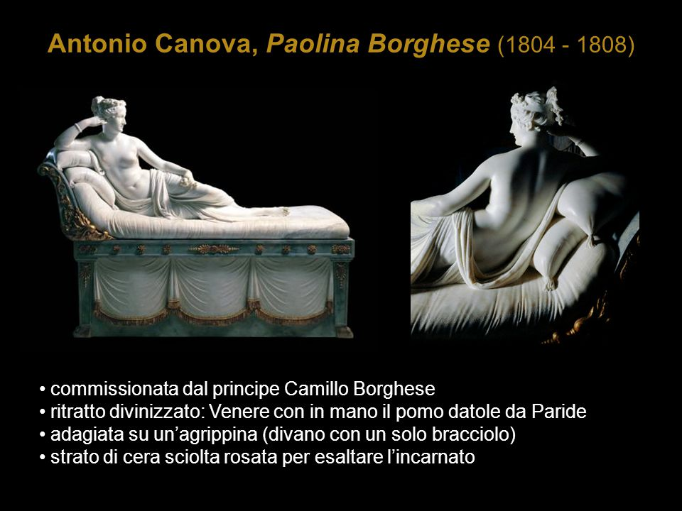 Antonio Canova, Paolina Borghese (1804 - 1808)