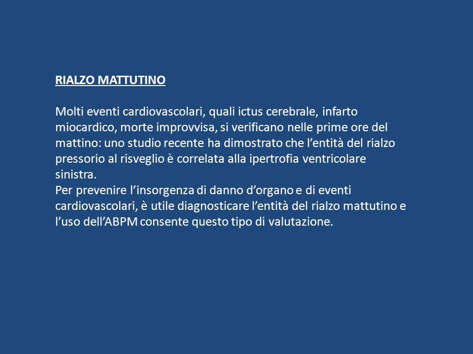 RIALZO MATTUTINO
