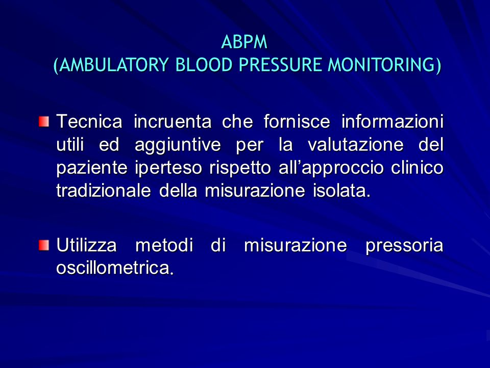 (AMBULATORY BLOOD PRESSURE MONITORING)