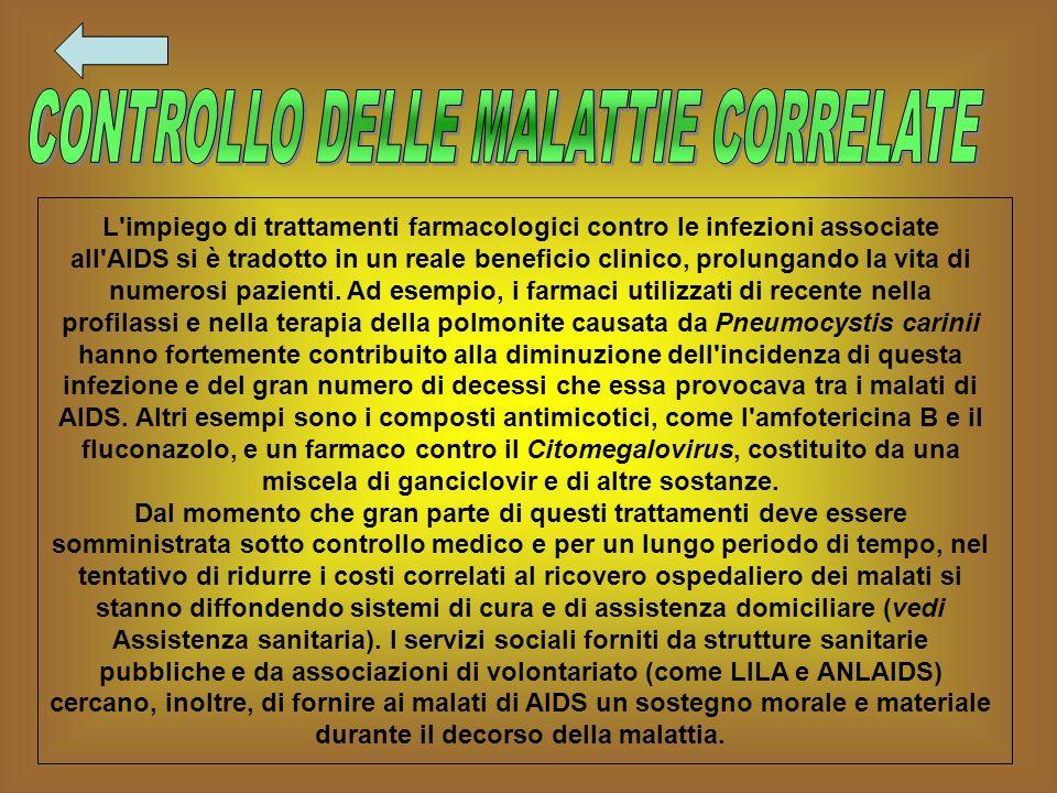 CONTROLLO DELLE MALATTIE CORRELATE