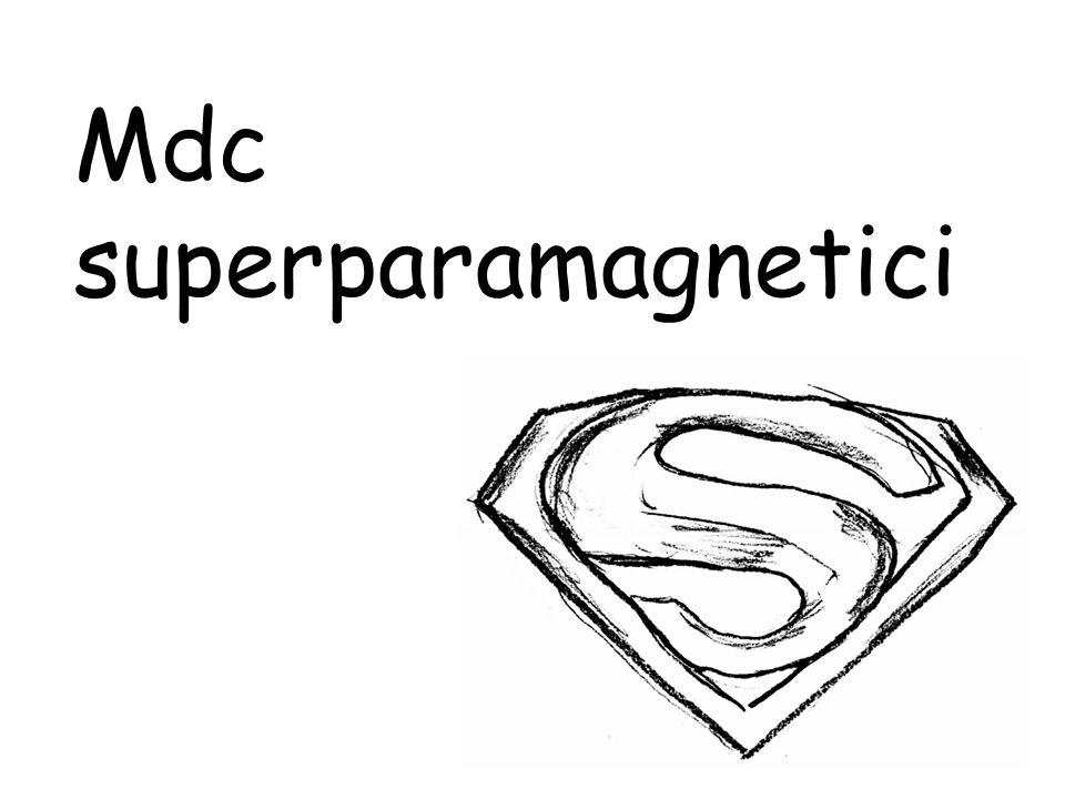 Mdc superparamagnetici