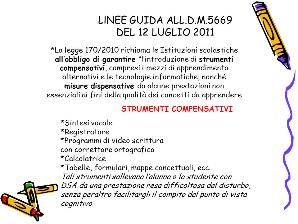 LlNEE GUIDA ALL.D.M.5669 DEL 12 LUGLIO 2011