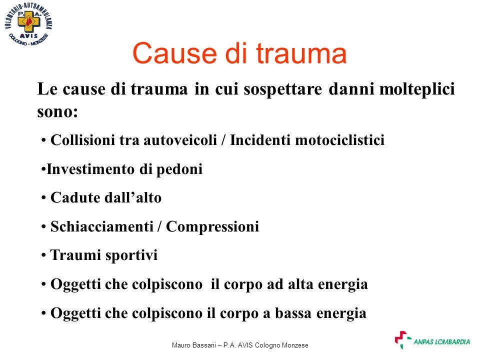 Mauro Bassani – P.A. AVIS Cologno Monzese