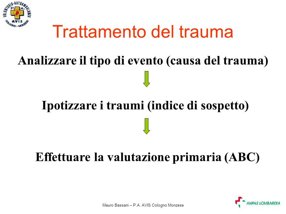 Trattamento del trauma