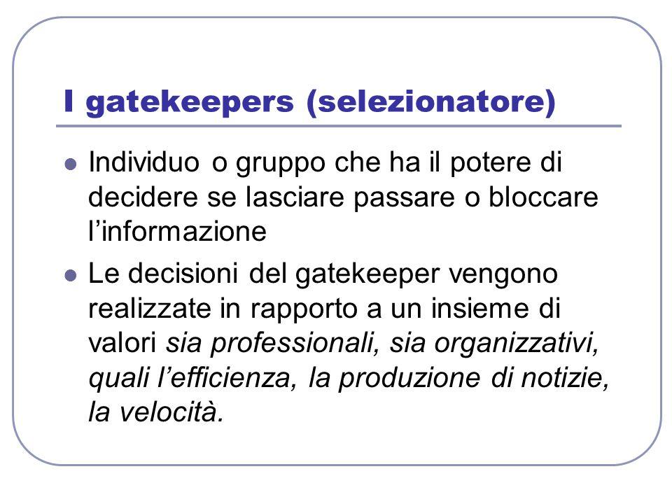 I gatekeepers (selezionatore)