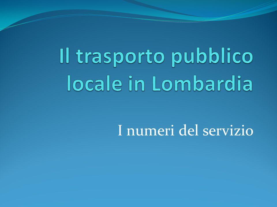 Il trasporto pubblico locale in Lombardia