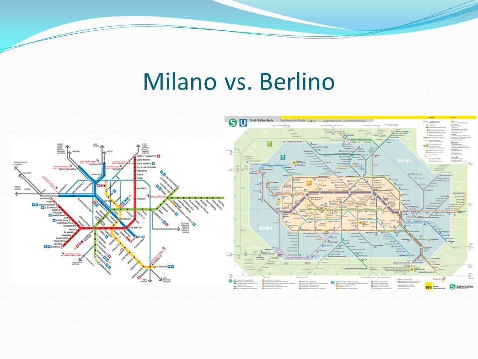 Milano vs. Berlino