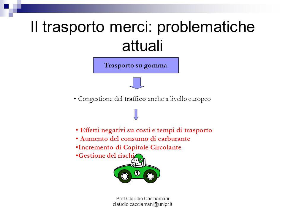 Il trasporto merci: problematiche attuali