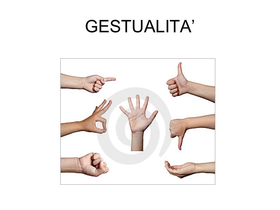 GESTUALITA'