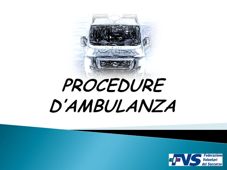 PROCEDURE D'AMBULANZA