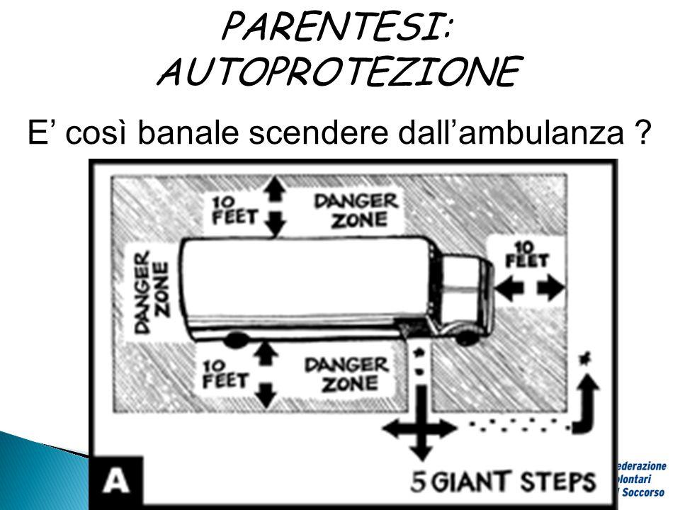 PARENTESI: AUTOPROTEZIONE