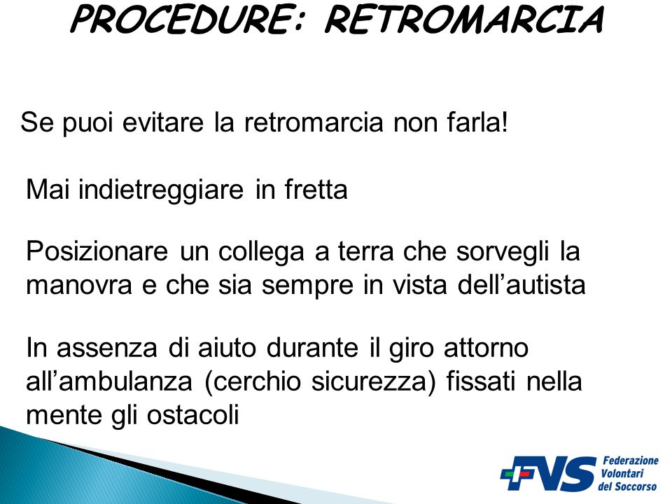 PROCEDURE: RETROMARCIA