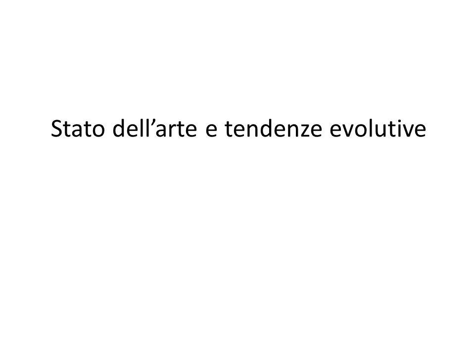 Stato dell'arte e tendenze evolutive