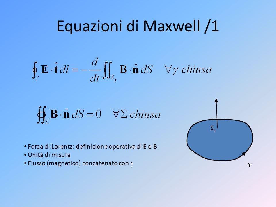 Equazioni di Maxwell /1 S