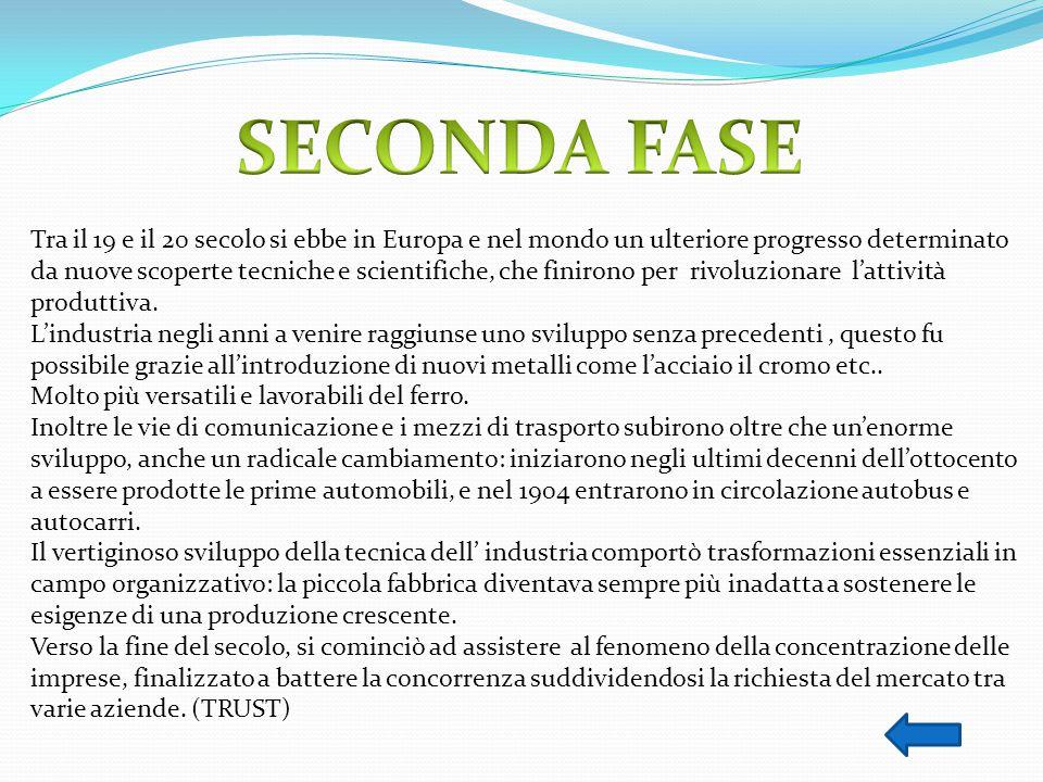 SECONDA FASE