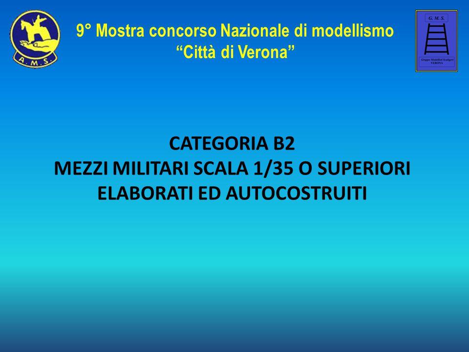 MEZZI MILITARI SCALA 1/35 O SUPERIORI ELABORATI ED AUTOCOSTRUITI