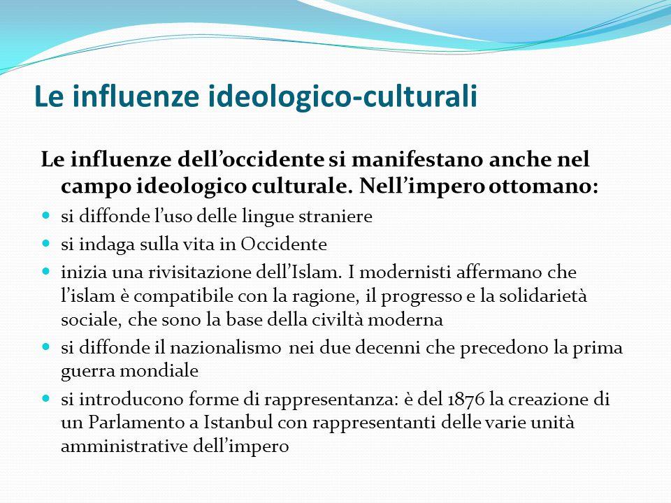 Le influenze ideologico-culturali