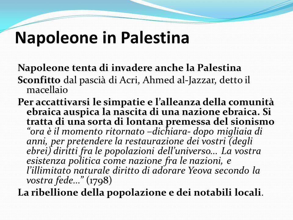 Napoleone in Palestina