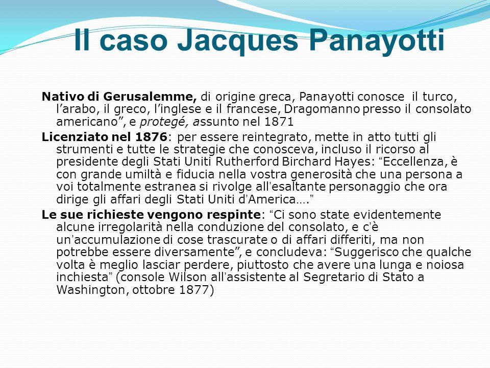 Il caso Jacques Panayotti