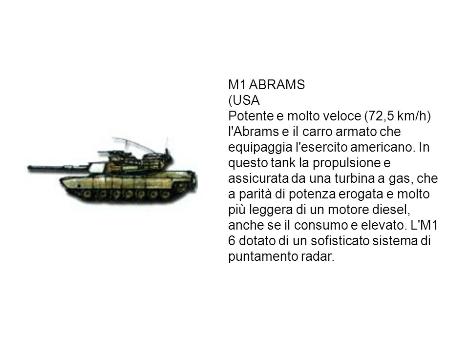 M1 ABRAMS (USA