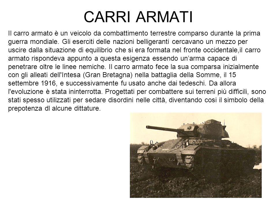 CARRI ARMATI