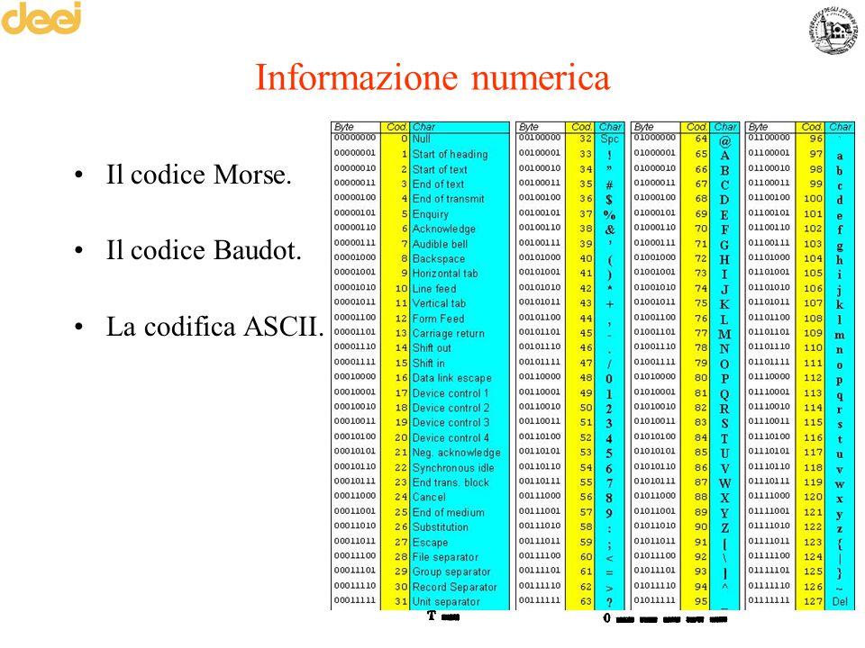 Informazione numerica
