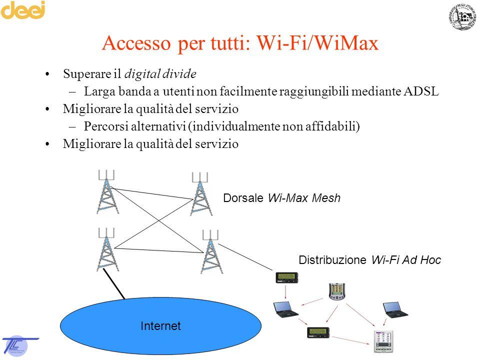 Accesso per tutti: Wi-Fi/WiMax