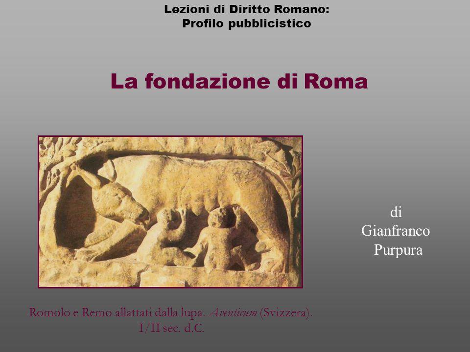 La fondazione di Roma di Gianfranco Purpura