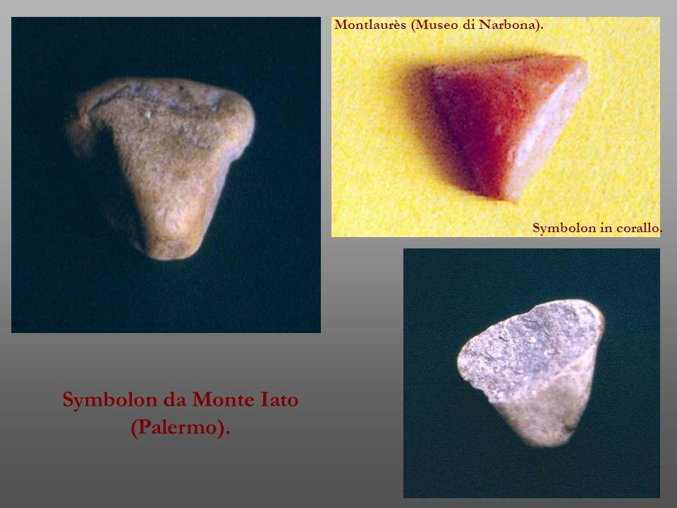 Symbolon da Monte Iato (Palermo).