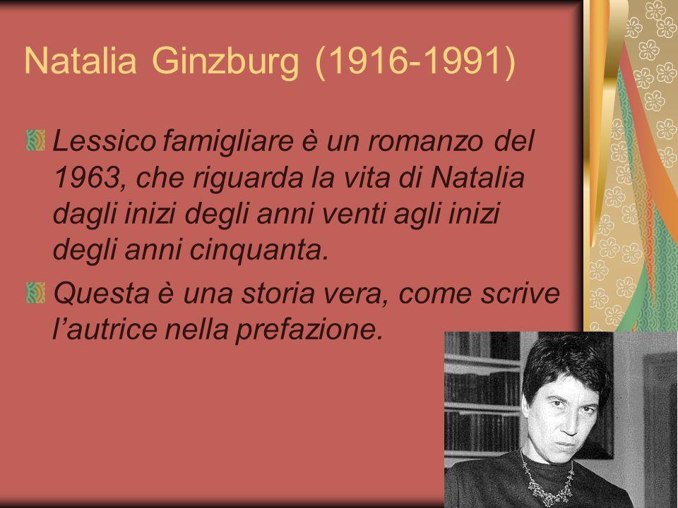 Natalia Ginzburg (1916-1991)